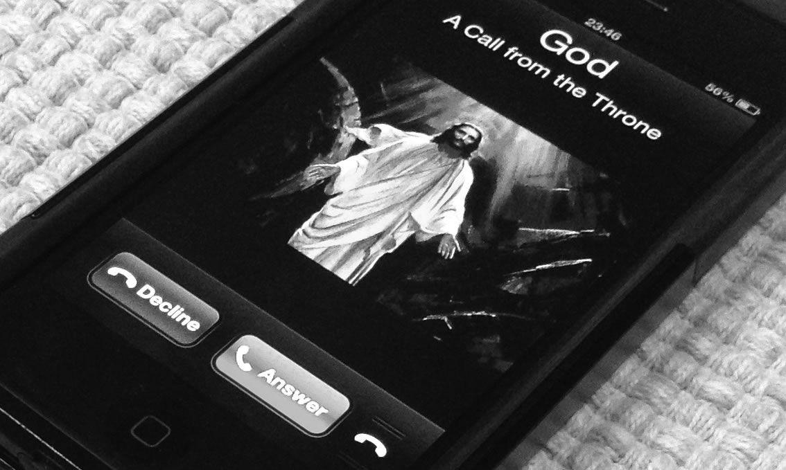 God Calling on Phone