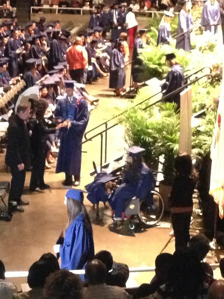 Bridget and Hero Graduate
